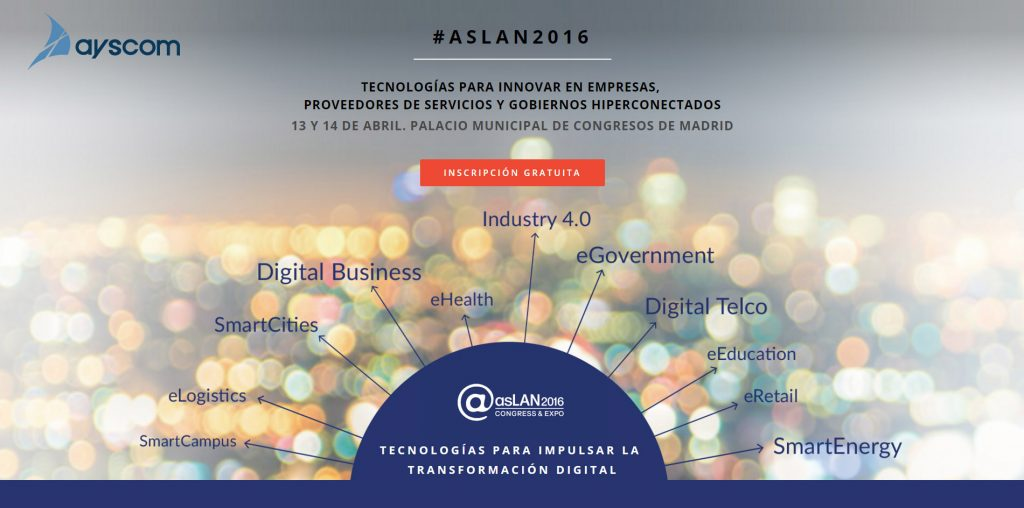 Ayscom en asLAN2016