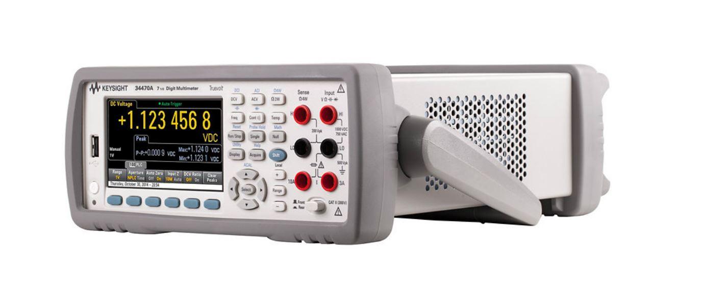 Multímetros digitales para medidas de consumo de baja corriente