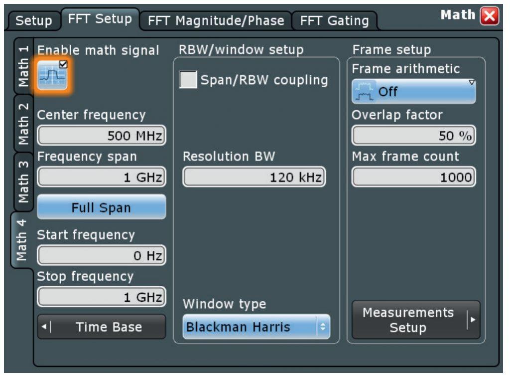 fft-setup
