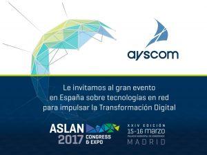 Ayscom participa en Expo & Congress Aslan 2017 13