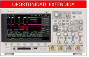 Oportunidad extendida en Osciloscopios InfiniiVision serie X3000T 1