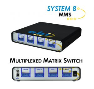 SYSTEM 8 Multiplexed Matrix Switch product