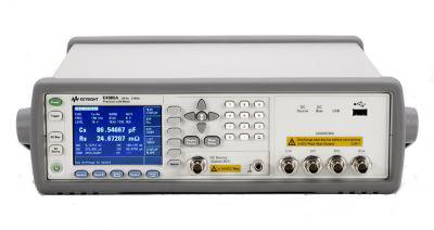 """""""Medidor precisión LCR E4980A"""""""